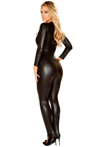Lace-Up Catsuit