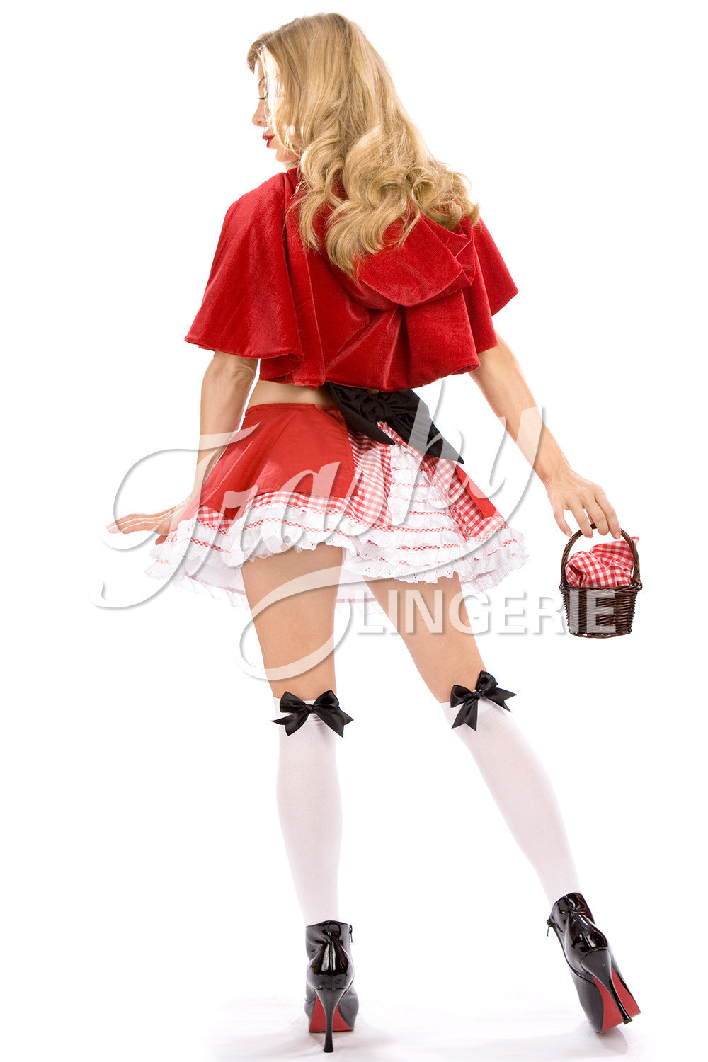 Bridget Red Riding Hood Top