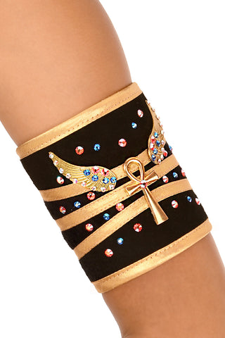 Nefertiri Single Upper Arm Cuff