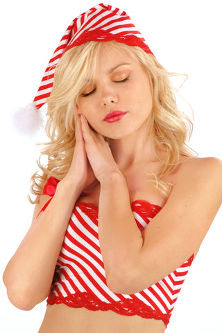 Peppermint Sleep Hat
