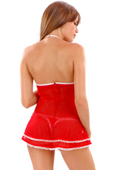 Uncle Fluffy Underwire Chemise