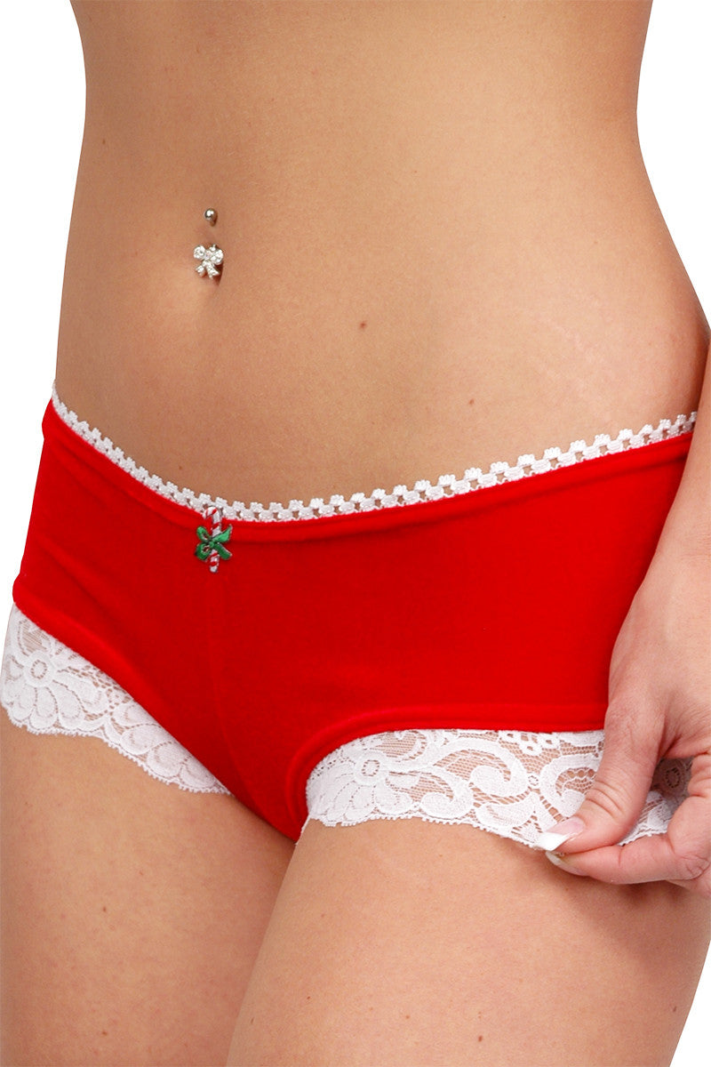 Larrykins Shorts with Christmas Appliqué