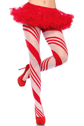 Candy Cane Pantyhose