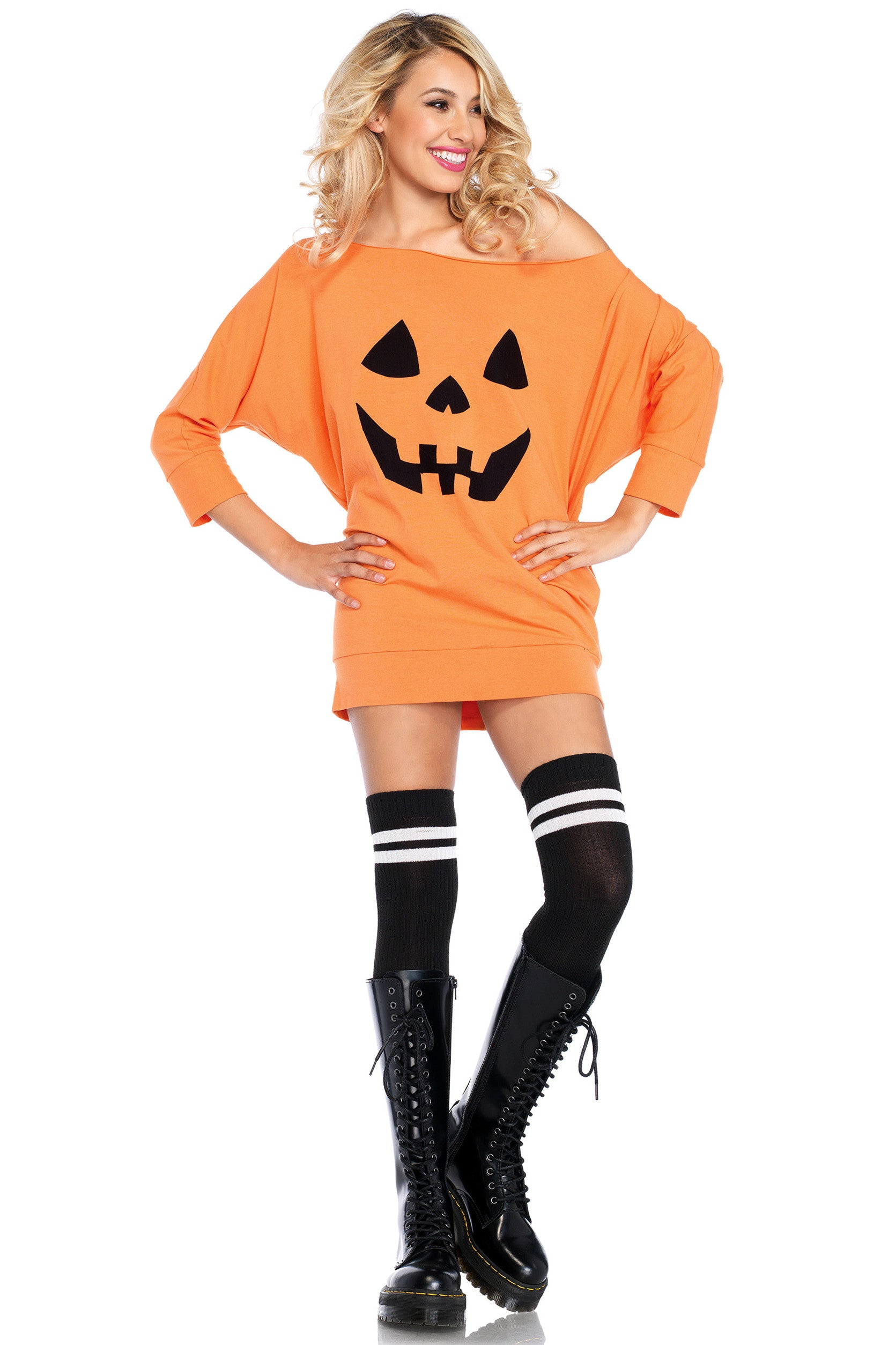 Jersey Pumpkin Dress