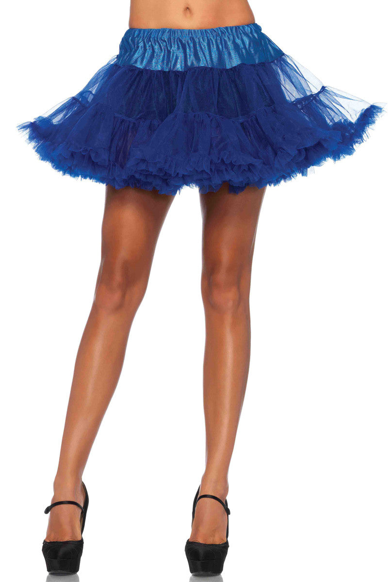 Royal Blue Crinoline Petticoat