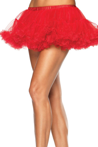 Short Red Crinoline Petticoat