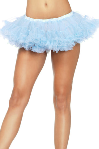 Short Light Blue Crinoline Petticoat