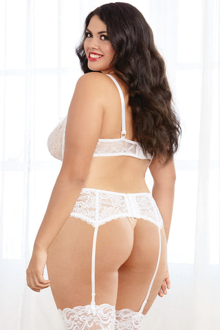 Underwire Lace Shelf Bra