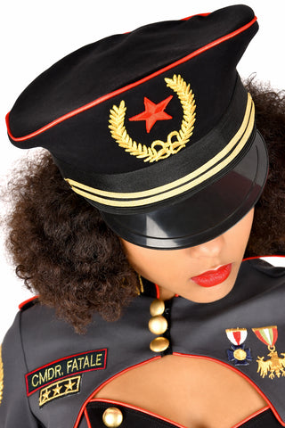 Commander Fatale Hat