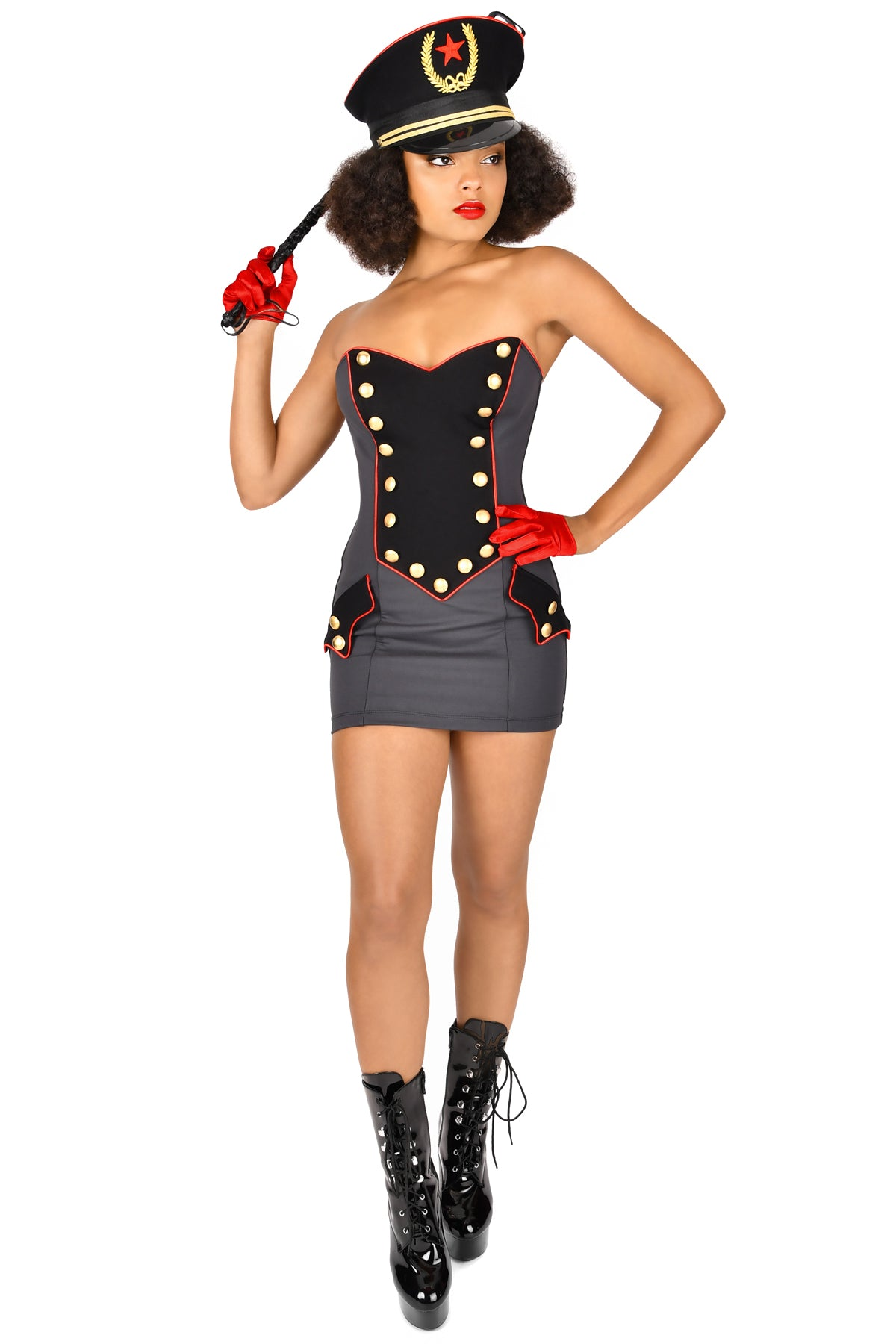 Commander Fatale Strapless Dress