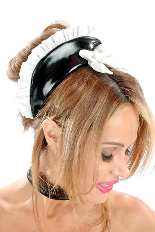Fifi Vinyl Maid Headdress