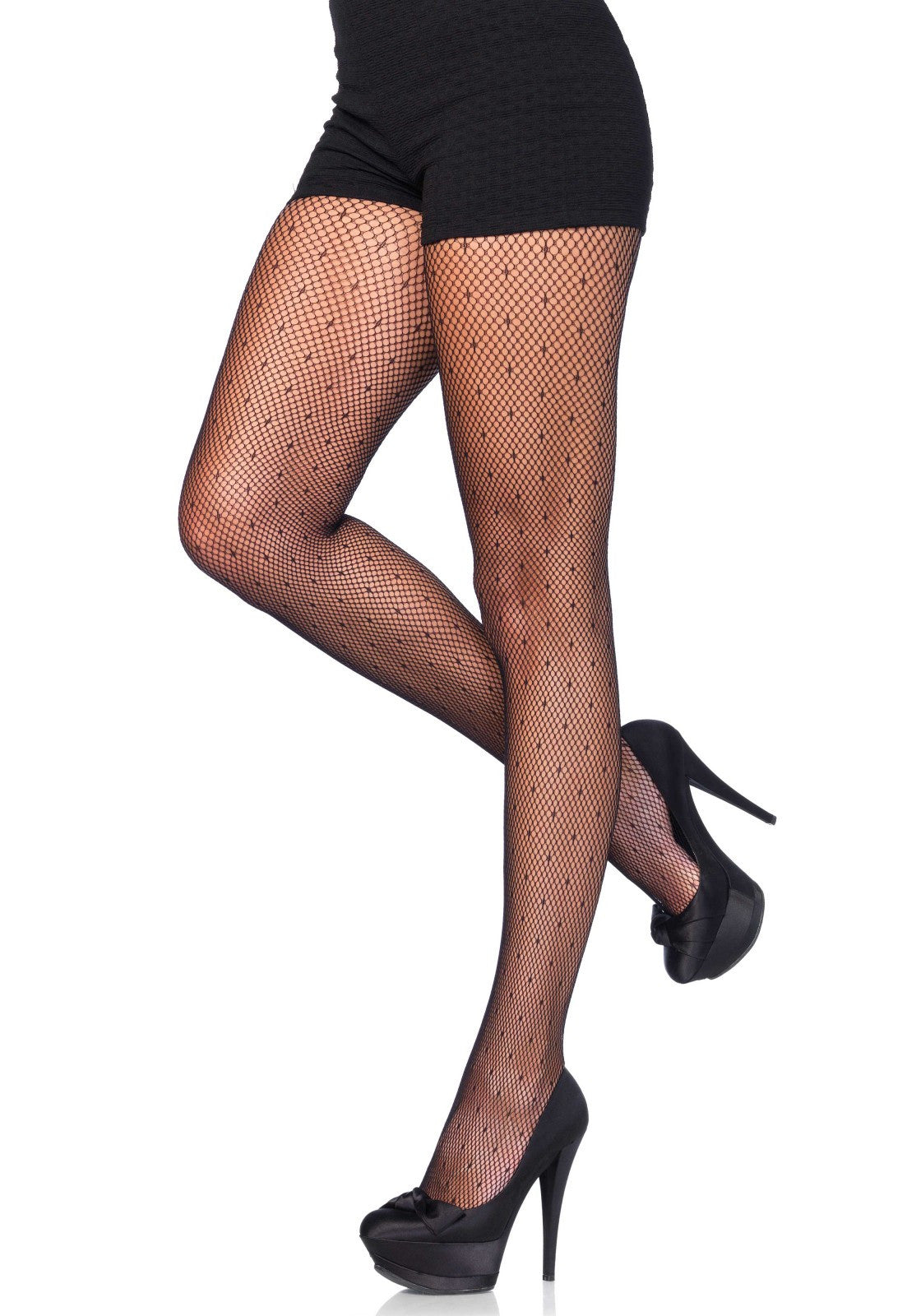 Dotted Net Pantyhose