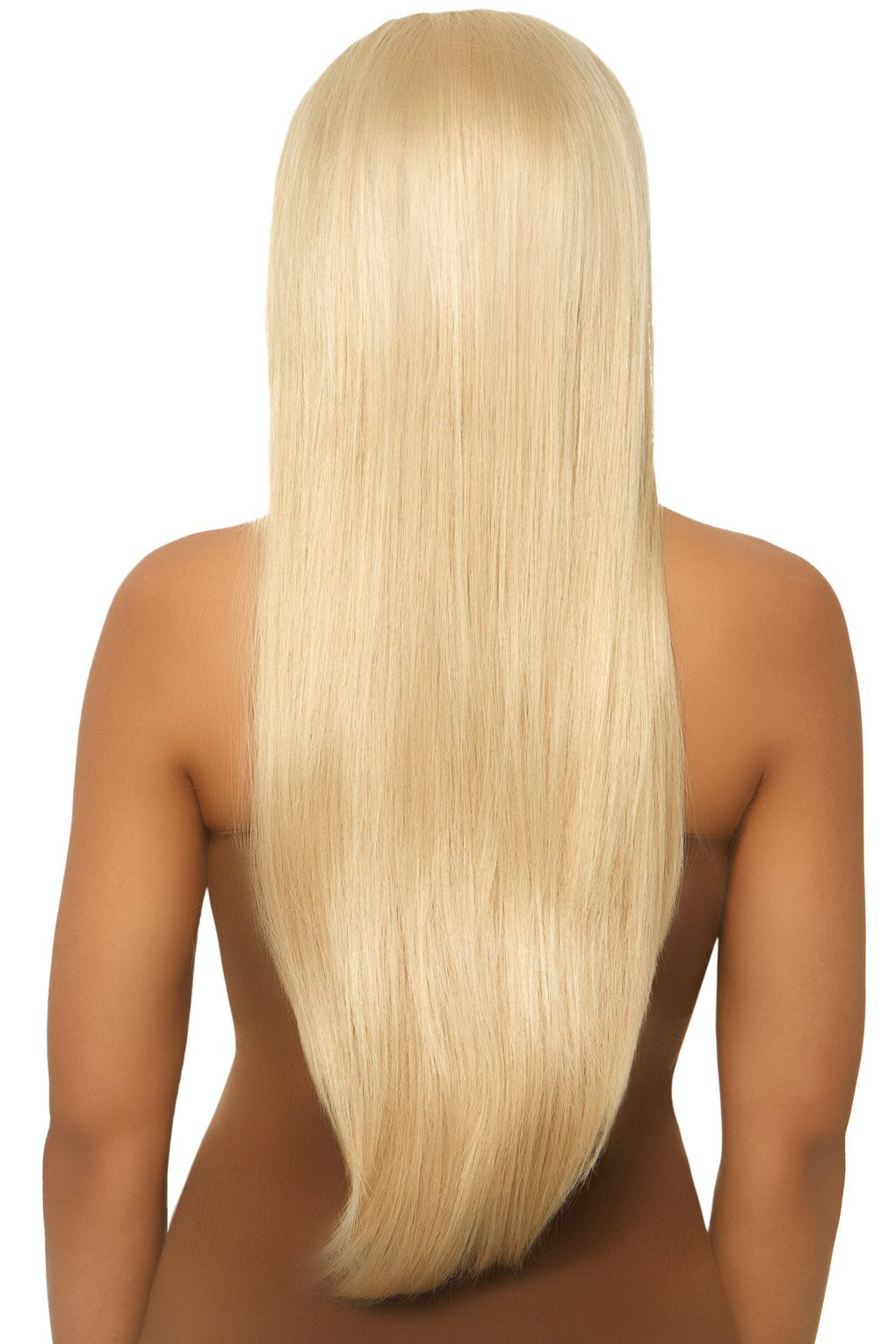 Long Straight Blond Wig