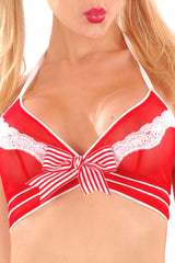 Sheer Peppermint Camisole
