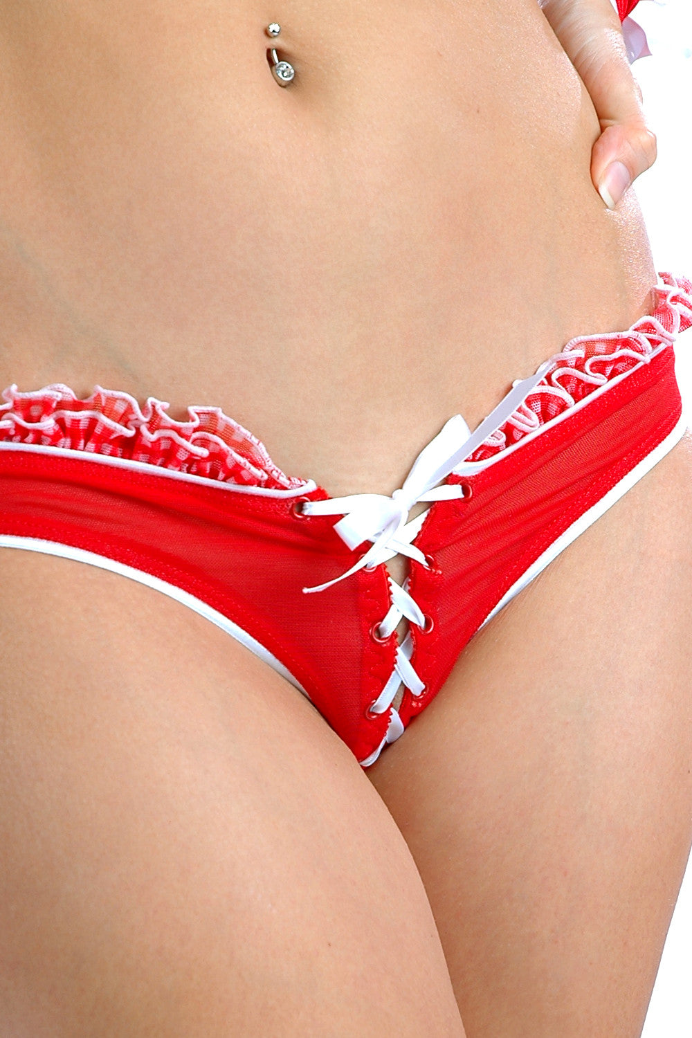 Country Lovin' A/C Lace-Up Panty