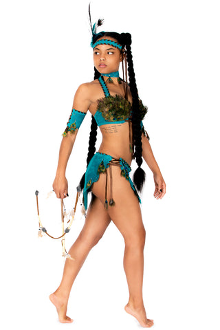 Feather Pocahontas Bra