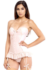 Amsterdam Strapless Corset with Flounce