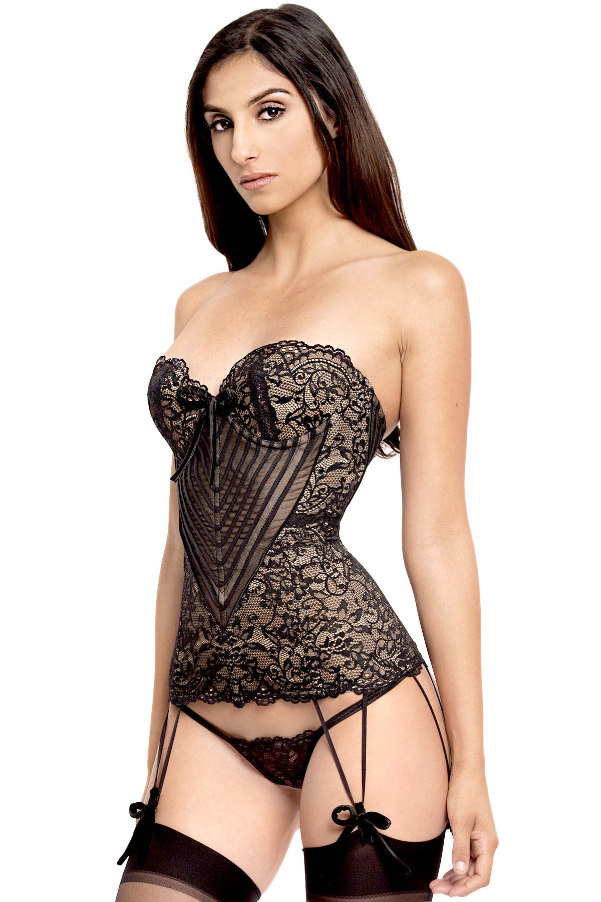 Amsterdam Long Lined Corset