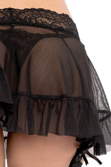 Amsterdam Garter Skirt with Flounce