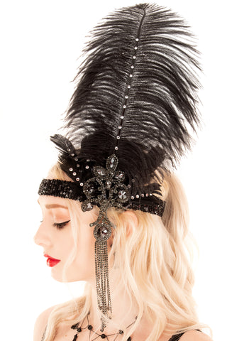 Tatianna Flapper Headpiece