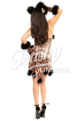 Paris Leopard Dress