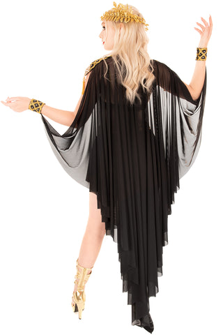 Athena Cape with Shoulders and Cuffs