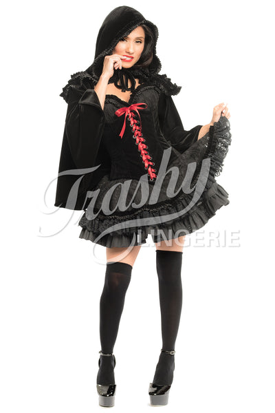 Black Riding Hood Cape