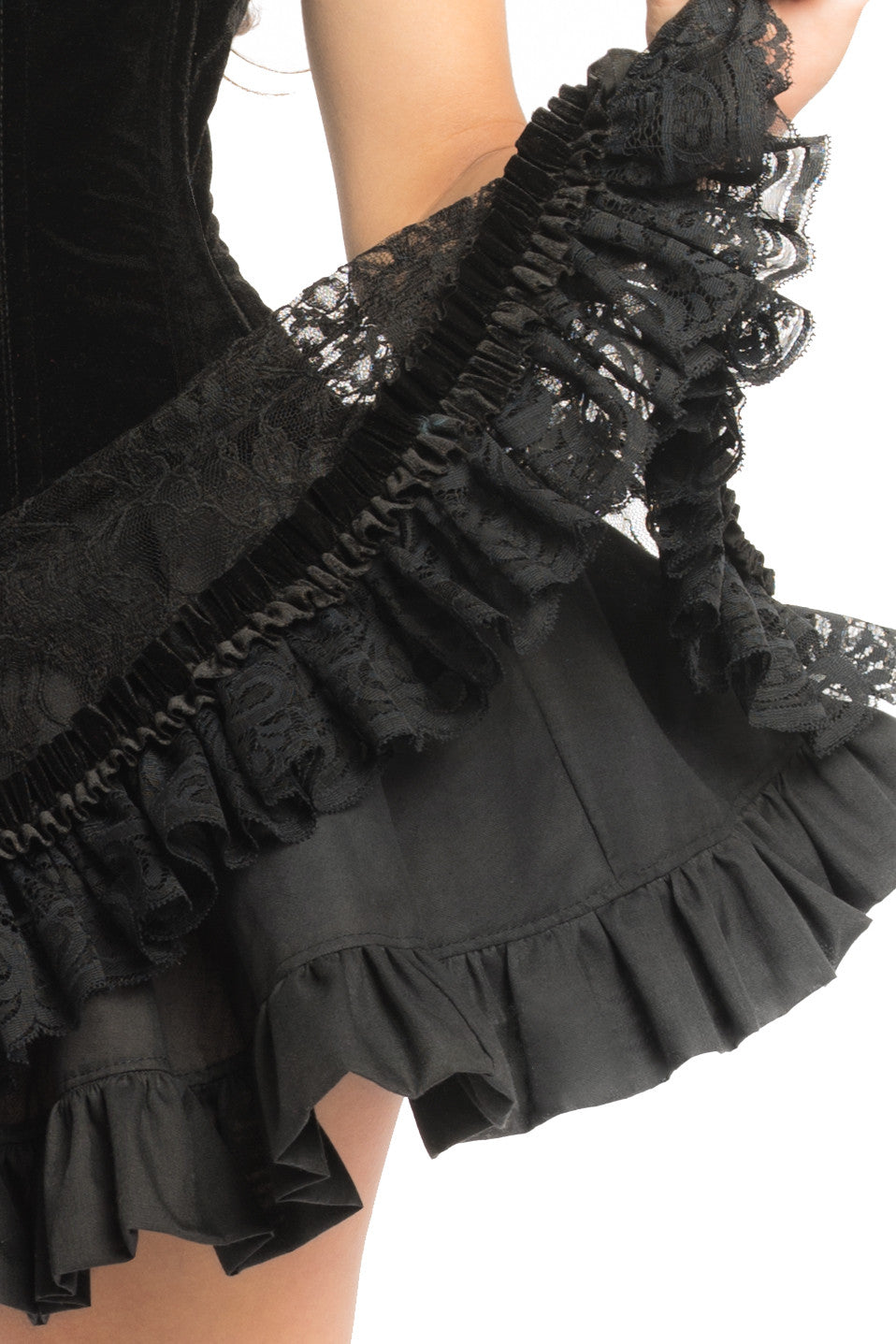 Black Red Riding Hood Skirt