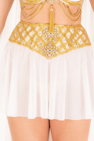 Athena High-Waisted Short Skirt