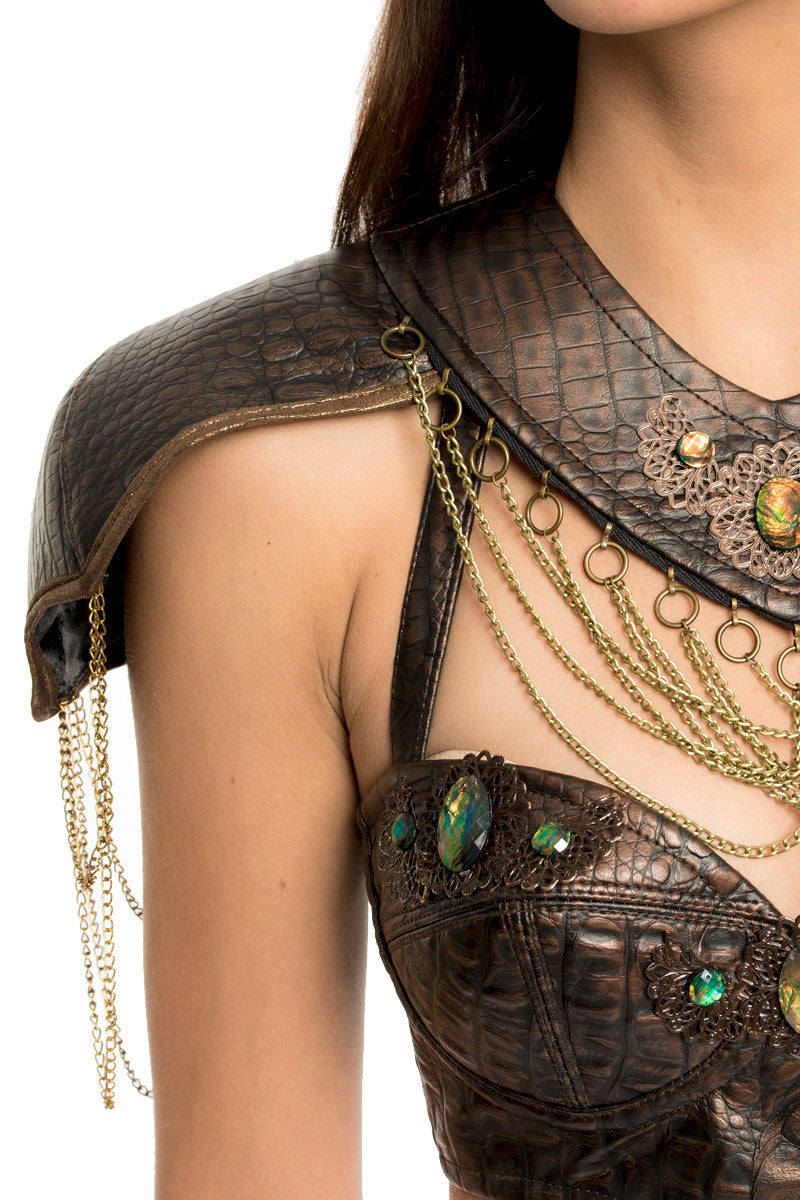 Dragon Queen Shoulder Armor & Collar