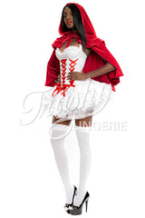 Red Velvet Riding Hood Cape