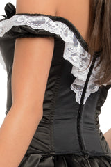 Button French Maid Dress