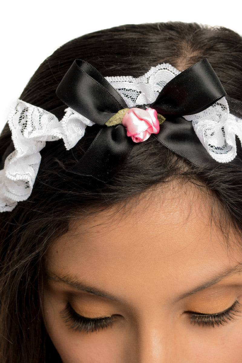 Button French Maid Headband