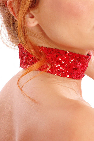 Sequined Choker