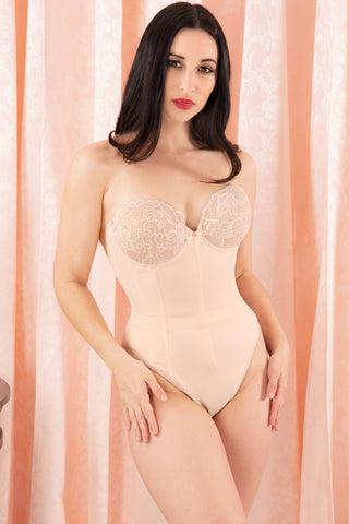 Roxanna Molded Lace Cup Teddy