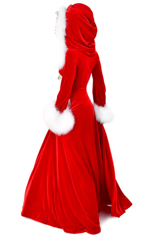 Holiday Magic Long Hooded Robe