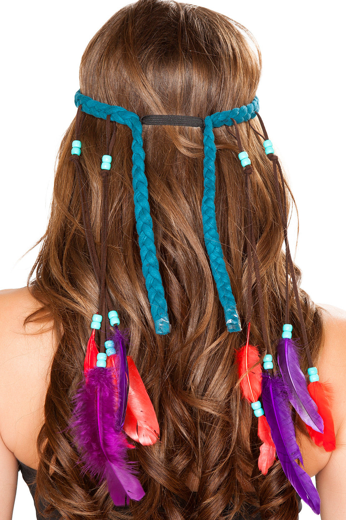 Braided Turquoise Headband