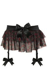 Sex Kitten Double Layer Garter Skirt