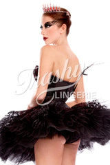 Ballerina Swan Tutu with Built-In Panty