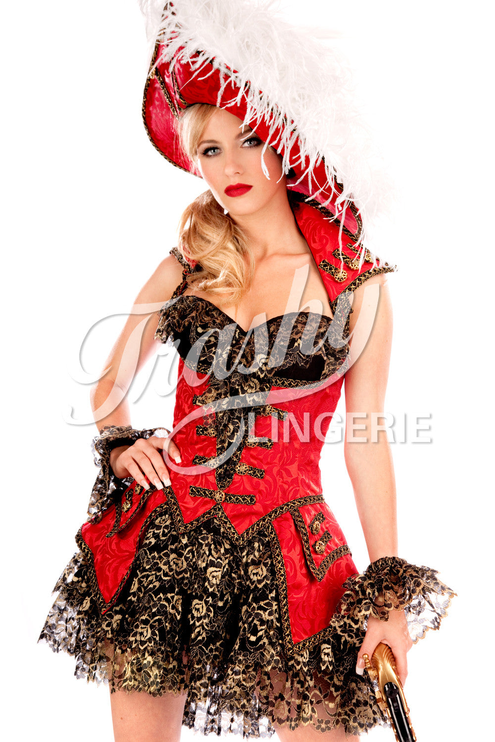 Brocade Pirate Over Dress
