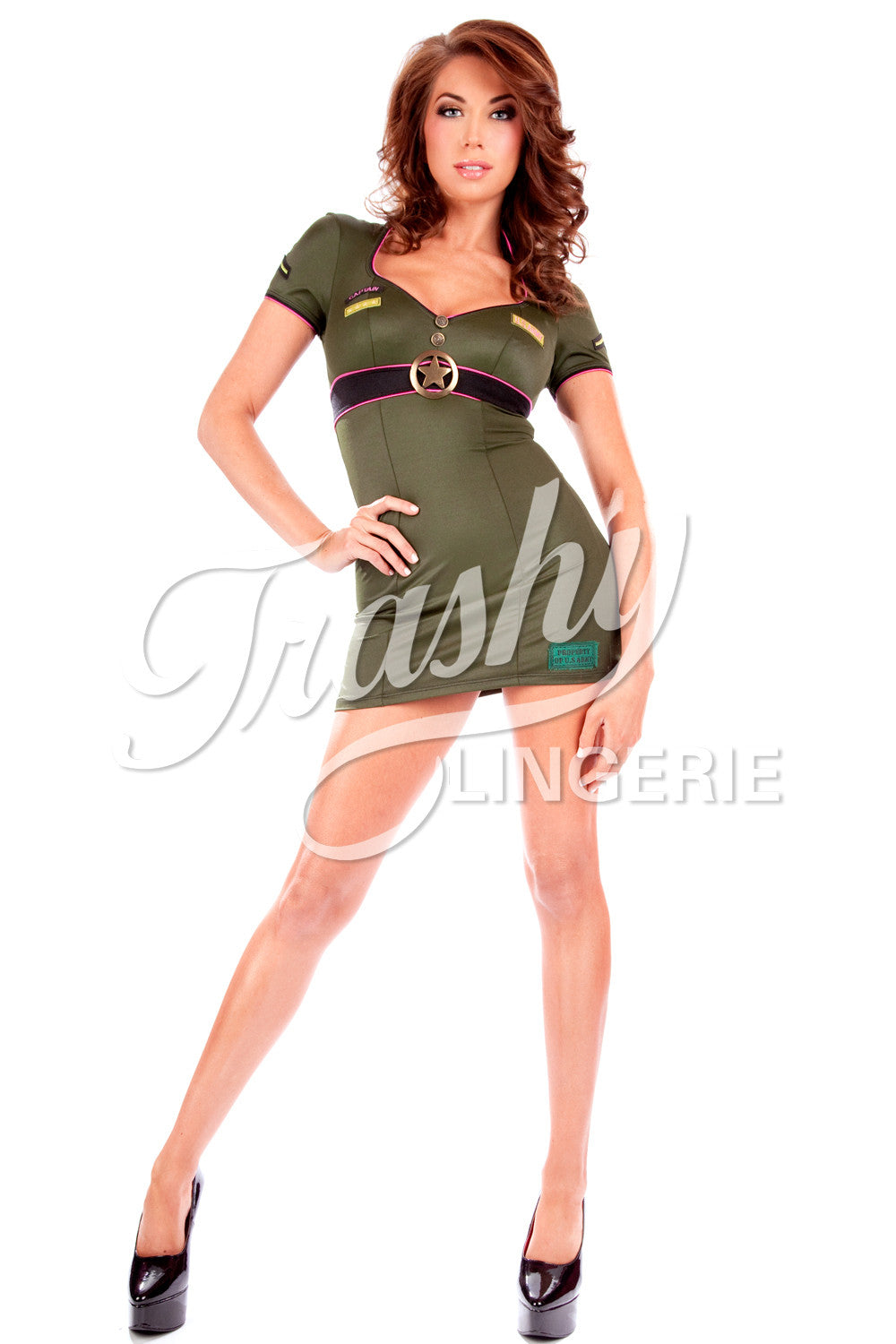 Army Girl Dress