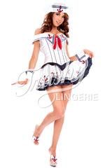 Satin Sailor Dress