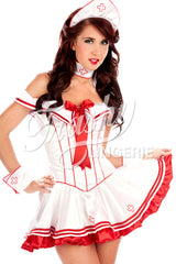 Satin Nurse Dress
