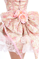 Marie Antoinette Skirt with Bustle