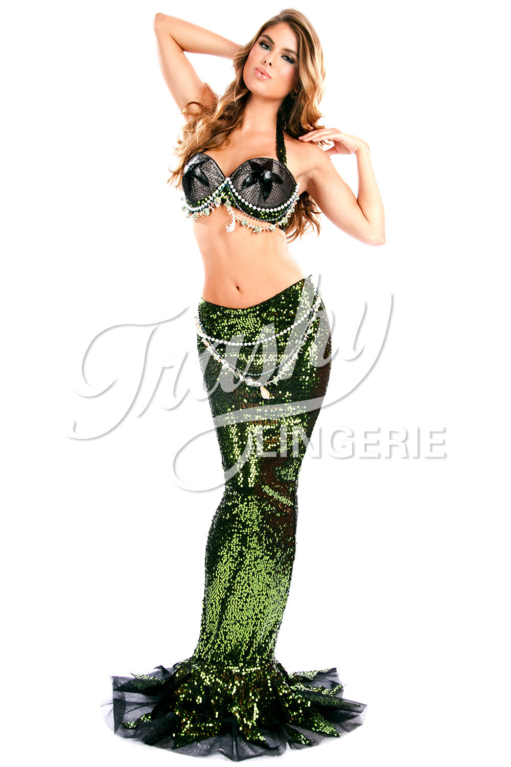 Mermaid Sequined Skirt