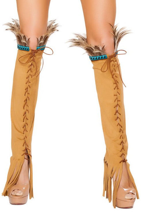 Native Honey Leg Warmers