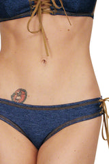 Lash Larou Reversible Bikini Bottom (It Goes Either Way)