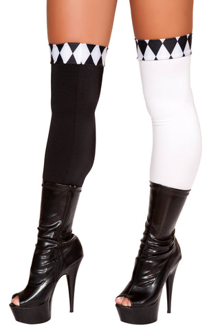 Wicked Jester Thigh Highs
