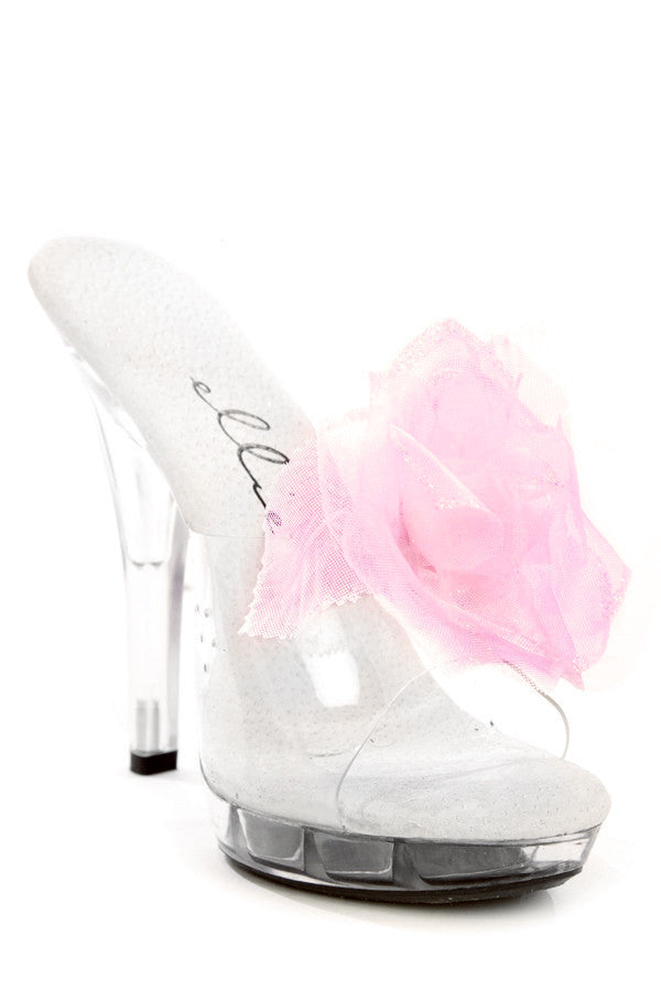Belle Rose Organza Shoe Clips
