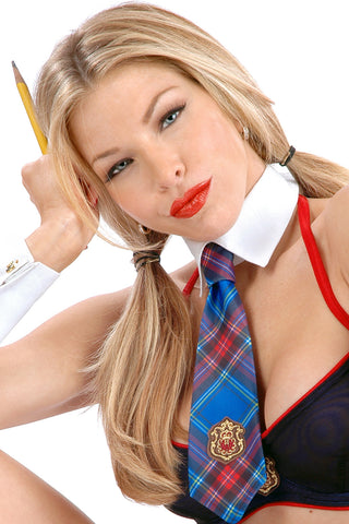 Prep School Collar with Tie